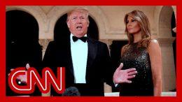 Trump speaks on Iraq protests and North Korea at NYE gala 3