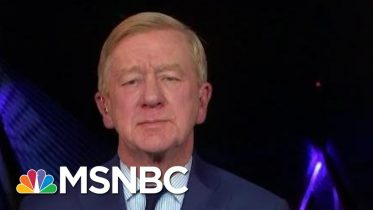 Bill Weld: Trump Is A 'Recipe For Disaster' For GOP   The Last Word   MSNBC 6