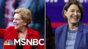 Elizabeth Warren, Amy Klobuchar Get Dual New York Times Endorsement | Velshi & Ruhle | MSNBC 5
