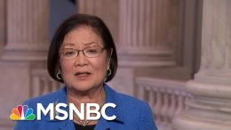 Sen. Mazie Hirono: 'Let's Have Real Witnesses, Relevant Witnesses' | MTP Daily | MSNBC 4