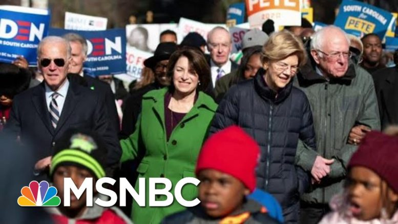 2020 Democrats Campaign On Martin Luther King Jr. Day | MTP Daily | MSNBC 1