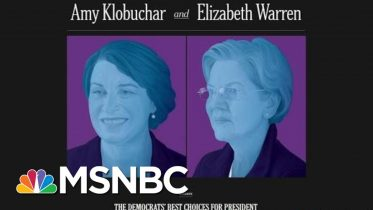 New York Times Editorial Board Breaks With Convention And Endorses Two Candidates | Deadline | MSNBC 6