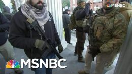 Gun Rights Activists Rally Against Gun Control Legislation In Richmond | All In | MSNBC 7