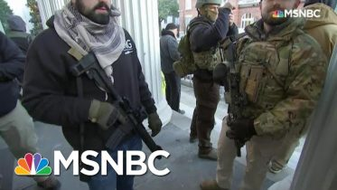 Gun Rights Activists Rally Against Gun Control Legislation In Richmond | All In | MSNBC 6