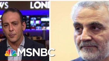 'Escalation'? US Airstrike Kills Iranian Commander - Day That Was | MSNBC 6