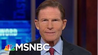 """Richard Blumenthal: McConnell's """"Shameful"""" Rules Are A """"Cover Up"""" 