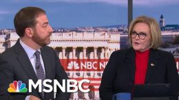 Fmr. Sen. Claire McCaskill: 'Susan Collins Will Break Today' On Impeachment Witnesses | MSNBC 3