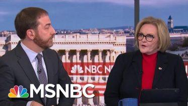 Fmr. Sen. Claire McCaskill: 'Susan Collins Will Break Today' On Impeachment Witnesses | MSNBC 6