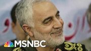 Top Iranian General Killed On Trump's Orders | Morning Joe | MSNBC 4