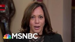 Sen. Harris: Republicans Are Bogging Down Trial By Handing Out Lies That Must Be Corrected | MSNBC 4