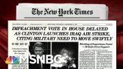 Parallels Between Now And 1998 Iraq Air Strike | Morning Joe | MSNBC 2