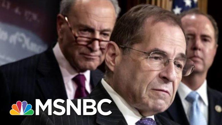 President Donald Trump Refers To Rep. Jerry Nadler As 'Sleazebag' At Davos | Morning Joe | MSNBC 1