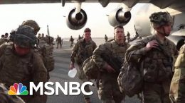 3,500 More U.S. Troops Headed To Middle East As Part Of Immediate Response | Andrea Mitchell | MSNBC 1