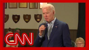 Joe Biden asked if he'd trade son's testimony for Bolton's 6