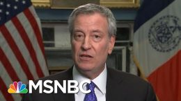 De Blasio On Potential Iran Threats: Iran Has 'Scouted NYC Targets' Before | Velshi & Ruhle | MSNBC 8