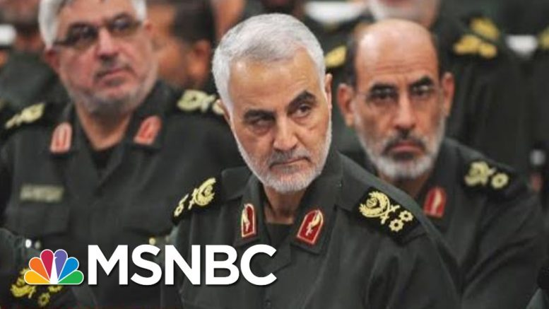Trump Goes Where Two Previous Presidents Refused To Go: Killing Iranian General   Deadline   MSNBC 1