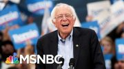 Poll: Bernie Sanders Jumps To Lead Nationally Among Non-White Voters | MSNBC 4