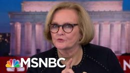 Claire McCaskill To Marsha Blackburn: I Think You Meant To Criticize Trump   The 11th Hour   MSNBC 5