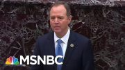 "Rep. Adam Schiff: ""If Right Doesn't Matter, We Are Lost!"" 