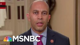 House Impeachment Managers Look Ahead Rebutting White House Case | Rachel Maddow | MSNBC 5