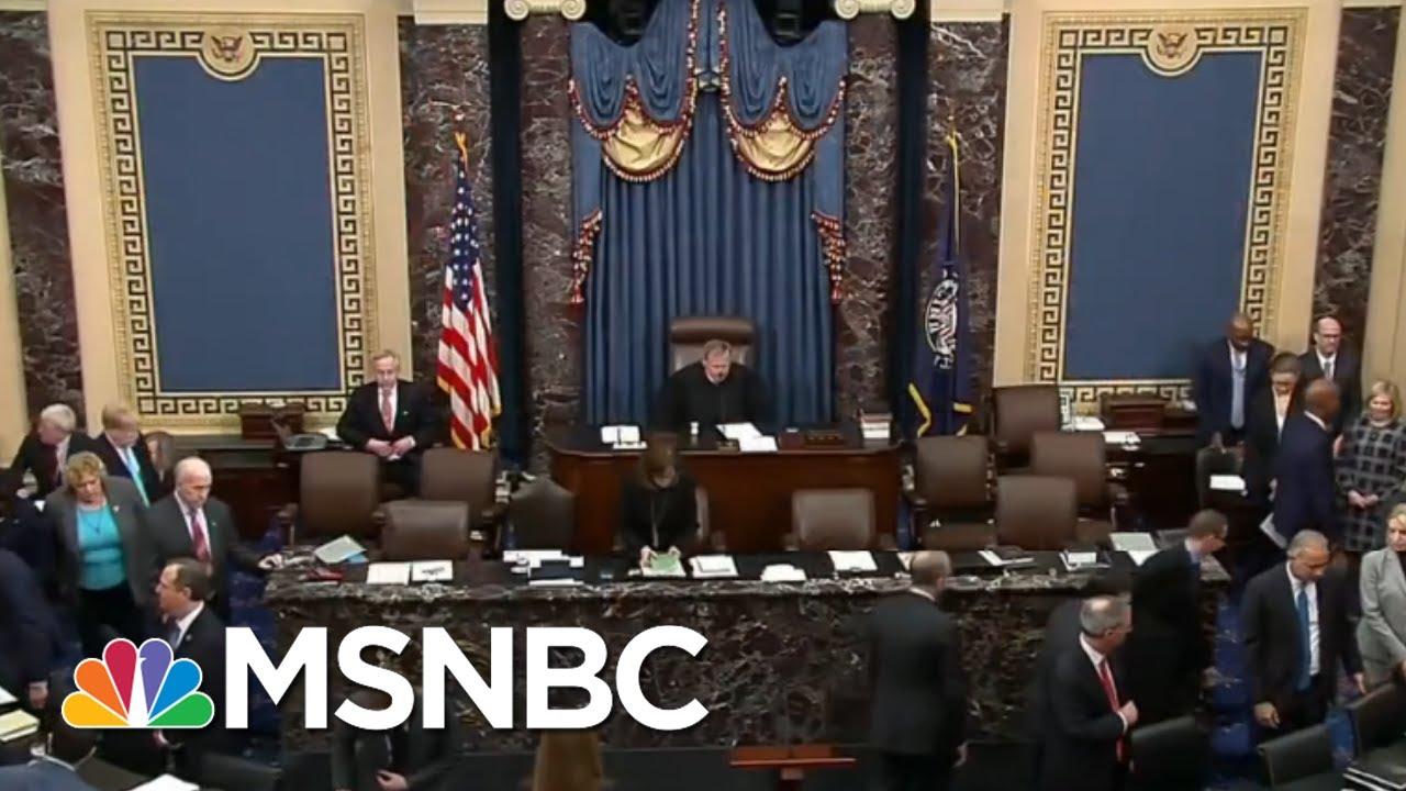 The Biggest Senate Moments From Thursday   Morning Joe   MSNBC 8