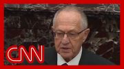 Alan Dershowitz defends President Trump on Senate floor 5