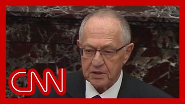 Alan Dershowitz defends President Trump on Senate floor 6