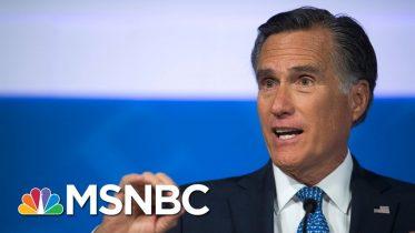 Mitt Romney: 'Increasingly Apparent We Need To Hear From John Bolton' | MSNBC 6