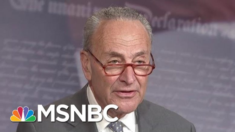 Chuck Schumer: John Bolton Testimony Goes To 'Heart Of The Charges Against The President'   MSNBC 1