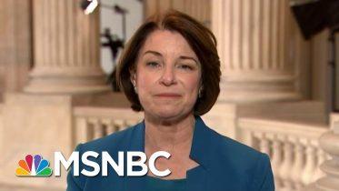 Amy Klobuchar: If GOP Isn't Sure John Bolton, Lev Parnas Are Telling Truth, Let Them Testify | MSNBC 5