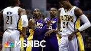 An Emotional Metta World Peace Reflects On His Relationship With Kobe Bryant | MSNBC 3