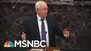 Melber: 'Constitutionally, We Just Watched Ken Starr Punch Himself In The Face' | MSNBC 4
