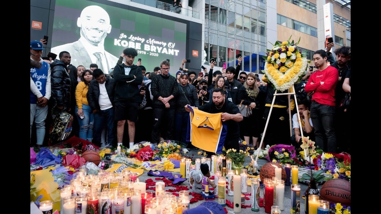 NBA fans react to the death of Kobe Bryant | USA TODAY 8