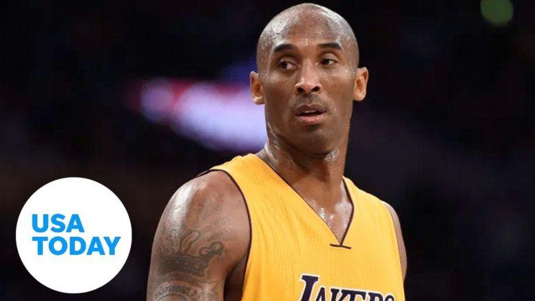 Kobe Bryant tributes emerge from tragic helicopter crash | USA TODAY 1
