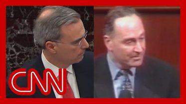 Trump legal team's closing video draws laughter in Senate 10