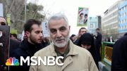 Dexter Filkins: Iran Will Retaliate For U.S. Killing Of Soleimani | All In | MSNBC 4
