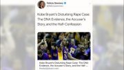 Reporter suspended after 'misguided' tweet on Kobe Bryant's death 5