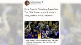 Reporter suspended after 'misguided' tweet on Kobe Bryant's death 9
