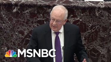 Trump Trial 'Disaster': See Ken Starr 'Punch Himself In The Face' On Senate Floor | MSNBC 6