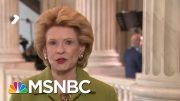 Sen. Debbie Stabenow: Not The Senate's Job 'To Further [Trump]'s Politics' | MSNBC 5