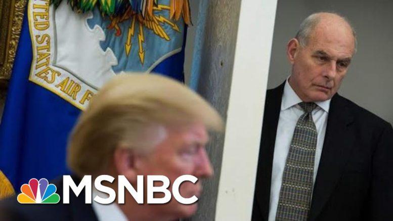 Former Trump Chief Of Staff John Kelly: 'I Believe John Bolton' | MSNBC 1