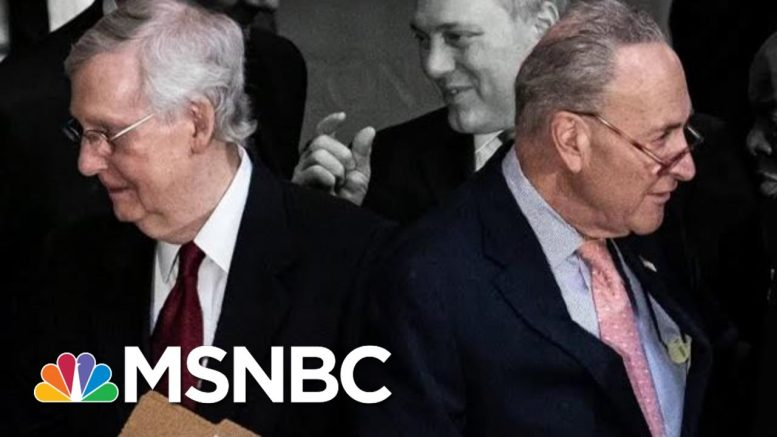 McConnell And Schumer In A Stalemate Over Trump Impeachment Trial | The 11th Hour | MSNBC 1