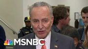 Chuck Schumer On President Donald Trump Defense Team: 'Their Whole Argument Is Diversion' | MSNBC 4