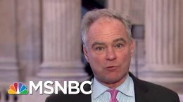 Tim Kaine: White House Impeachment Lawyers Avoid Making An Argument On Witnesses   MTP Daily   MSNBC 8