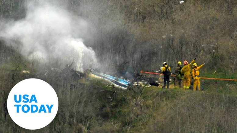 Last words heard before Bryant helicopter crash | USA TODAY 1