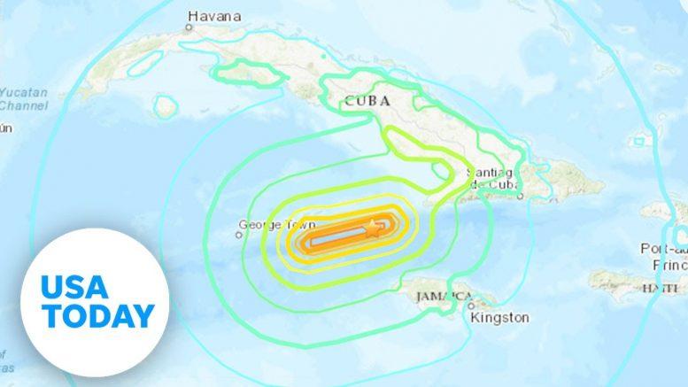 Earthquake off Jamaica coast rattles Caribbean | USA TODAY 1