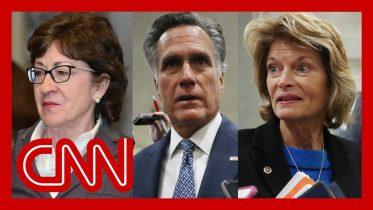 See question key GOP senators asked to Trump's team 6