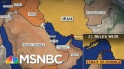 Iran's Past Suggests Range Of Potential Threats To US Interests | Rachel Maddow | MSNBC 3