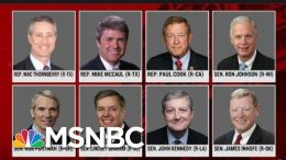 Republicans Who Stood Up For Ukraine Aid Quiet On Trump Scheme   Rachel Maddow   MSNBC 3