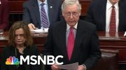 Lawrence: Why Mitch McConnell Revealed He Doesn't Have The Votes | The Last Word | MSNBC 5